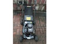 FOR SALE BLACK LAWNMOWER POWERDRIVEN BRIGGS AND STRATTON BEEN SERVICED