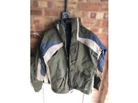 Winter jacket with removable fleece