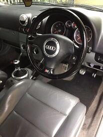 Audi TT Black Manual Year 1999 MOT til May 2018