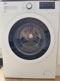 Beko 8kg 1300 spin washing machine only 1 year old in excellent condition for £125