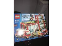 Lego fire station unopened