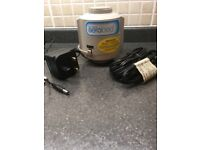 AEROBED Airbed mains charger with in-car charger - excellent working condition