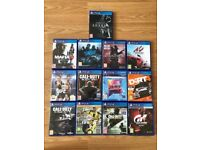 ps4 (playstation 4) games , as new , £10 each ! Price stands , no offers !