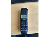 Cordless Telephone Black Phone & Base