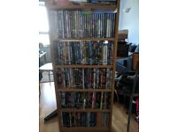 Selling DVD collection as a whole, including shelf