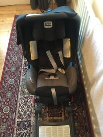 Britax car seat with ISO-fix