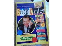 Brian Conley Autographed Programme