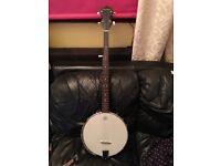 Tanglewood 5string open back banjo