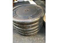 50kg York Weights - 5 x 10kg