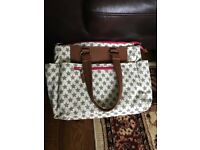 Baby changing bag with mat. great condition