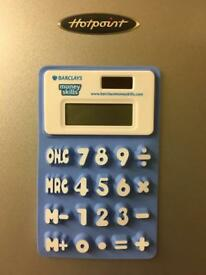 BLUE MAGNETIC SOLAR CALCULATOR
