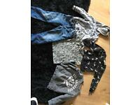 Bundle all 4 or 4-5 apart from black jumper which is 4-6 years