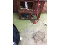 Two tier hutch for sale