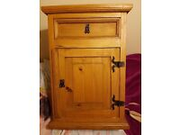 Bedside cabinet,shabby chic.