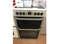 60CM SILVER BEKO ELECTRIC COOKER