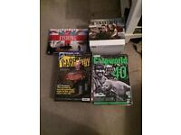Carp magazines and fishing dvds