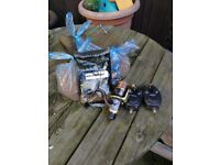 Fishing bait, reel and 2 alarms