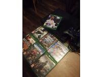 Xbox one Console plus Fifa 18 + 6 games