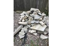 Assortment of bricks, open to offers