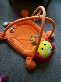 Baby activity play gym mat
