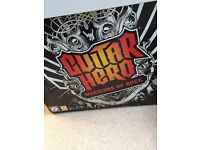 Xbox 360 Guitar Hero band pack -- game, drums, guitar, microphone plus Beatles Band game