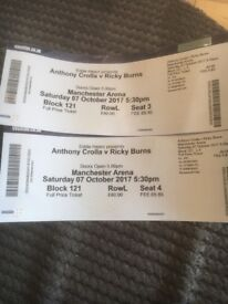 Anthony Crolla Vs Ricky Burns