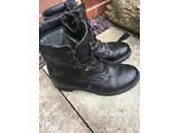 Size 10 gortex army boots