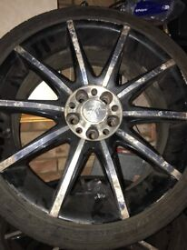 Wolf Race 17 inches alloy wheels