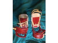 Must go!! UNION snowboard bindings