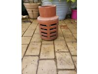 Terracotta chimney cowl never used IN FULWOOD, PRESTON AREA