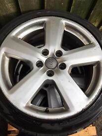 "Audi Rs6 Rs4 A4 A3 S3 A6 VW Golf Genuine Alloys 18"" 112 Et 43"