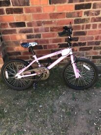"Girls 20""wheel bmx bike"