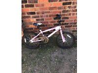 """Girls 20""""wheel bmx bike"""