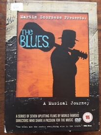 Martin Scorsese Presents : The Blues - A Musical Journey - DVD Box Set in Very Good Condition