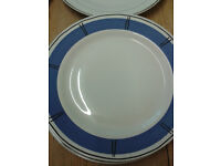 "2 Habitat ""Cappa Italia"" 10"" Dinner Plates"