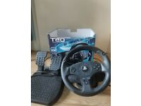 Thrustmaster T80 Wheel (PC/PS4/PS3 with box included)
