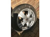 Mercedes w169/w245 alloy rim & good tyre