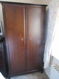 Stag Minstrel mahogany wardrobe