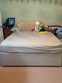 Free king size divan base and headboard