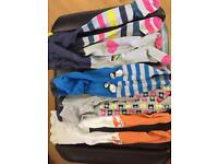 Mini Boden tights x 4 and Tu tights x 1. All good used condition. All size 4-5.