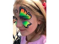 Face painter assistant / general helper needed