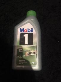 Mobil 1 0w-20 advanced motor oil 1 litre