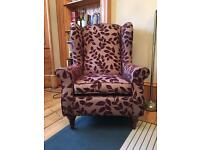 Like New M&S Wingback Chair