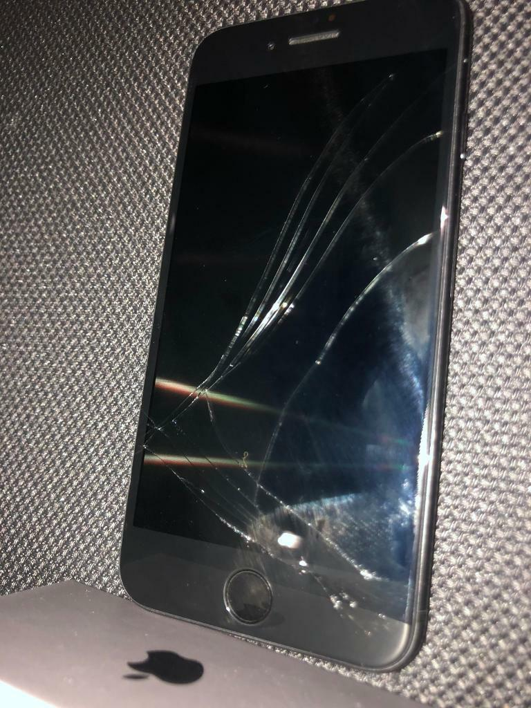 iPhone 8 64gb cracked/broken screen | in Glenrothes, Fife | Gumtree