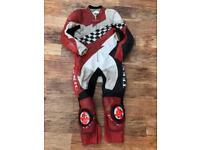 Motorbike motorcycle racing one piece leathers