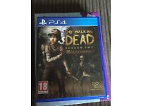 Ps4 game walking dead