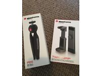 Manfrotto Mini Tripod and Universal Clamp for iPhone
