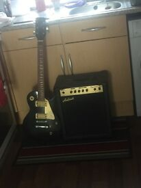 Electric Guitar & Amplifier For Sale!