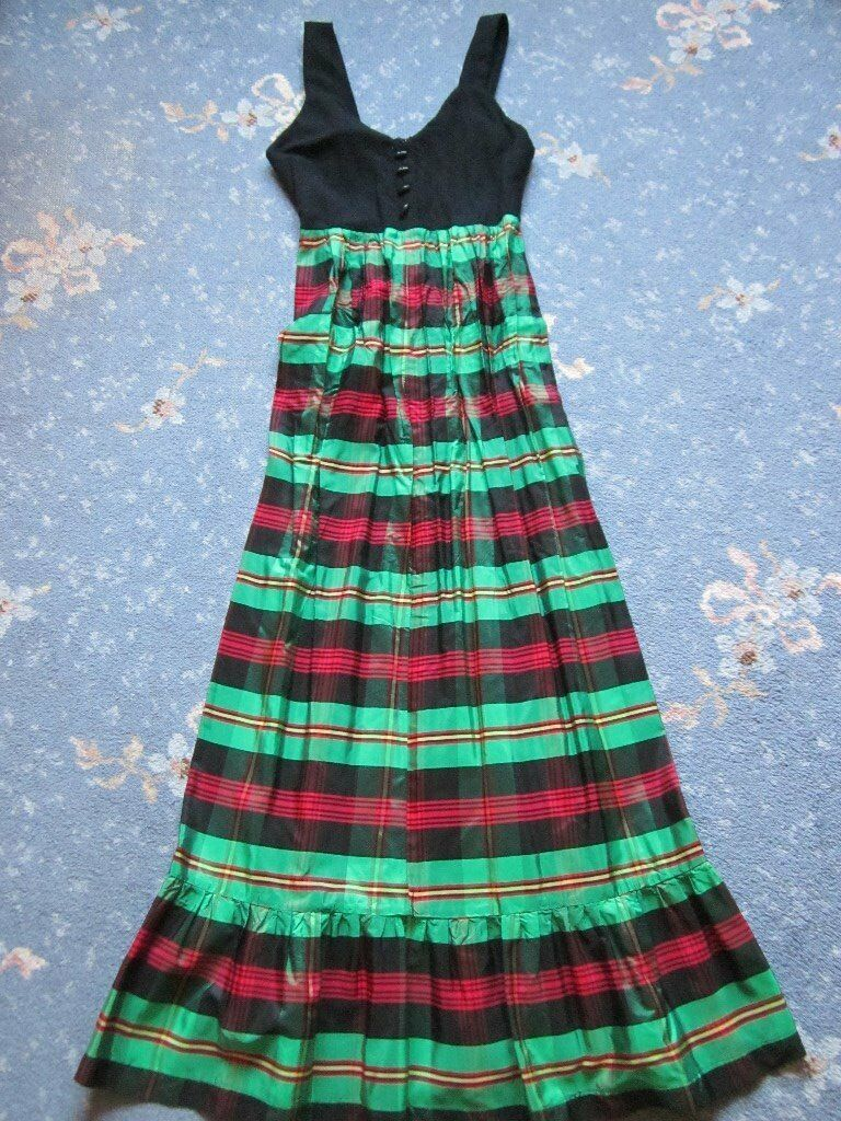Vintage Sherman of London Long Dress.