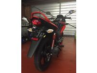 Brand new Honda CBF 125cc Stunner